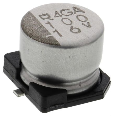 Nippon Chemi-Con 100μF Electrolytic Capacitor 16V dc, Surface Mount - EMVA160ADA101MF55G