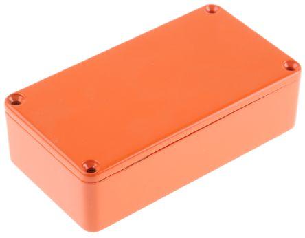 BIM2008//18-ORG//ORG PCB BOX ENCLOSURE ORANGE ABS CAMDENBOSS