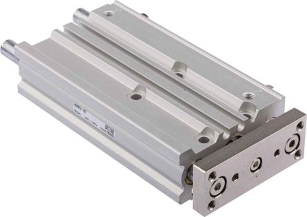 SMC Pneumatic Guided Cylinder 12mm Bore, 75mm Stroke, MGP Series, Double Acting
