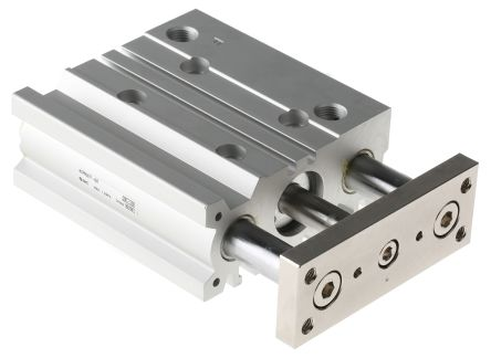 SMC Pneumatic Guided Cylinder 20mm Bore, 50mm Stroke, MGP Series, Double Acting