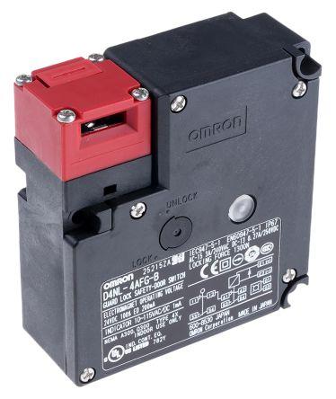 D4NL Solenoid Interlock Switch Power to Lock 24 V dc on