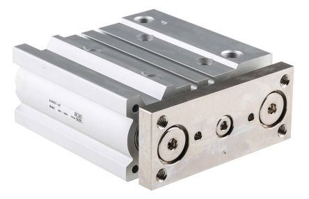 SMC Pneumatic Guided Cylinder 25mm Bore, 50mm Stroke, MGP Series, Double Acting