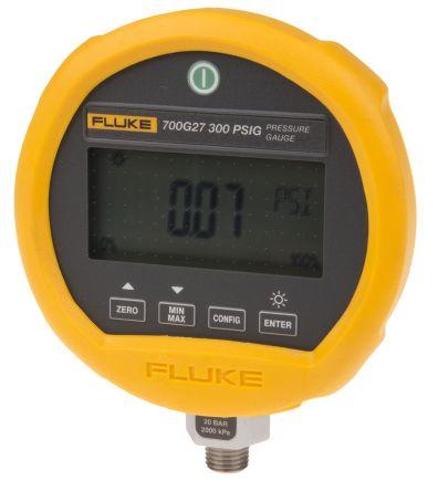 Fluke-700G27 Digital Pressure Gauge Hydraulic, Pneumatic 20bar 1/4 in, Interface Type RS232 700