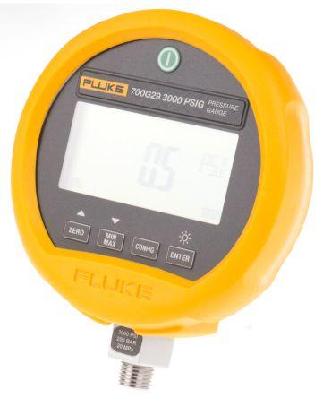 Fluke-700G29 Digital Pressure Gauge Hydraulic, Pneumatic 200bar 1/4 in, Interface Type RS232 700