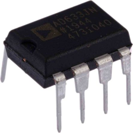 AD633JNZ Analog Devices, 4-quadrant Voltage Multiplier, 1 MHz, 8-Pin PDIP