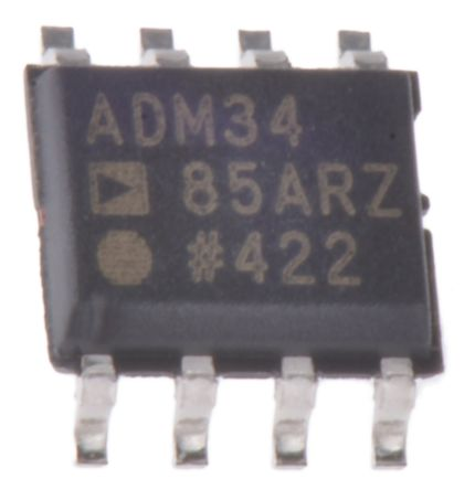 Analog Devices ADM3485ARZ-REEL7, Line Transceiver, RS-422, RS-485, 3.3 V, 8-Pin SOIC