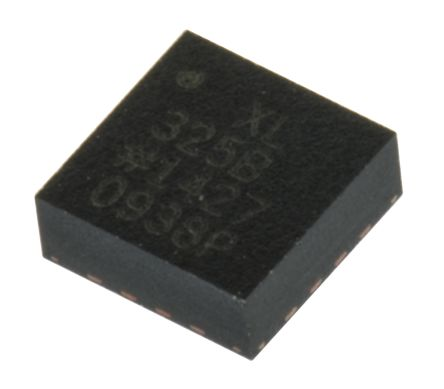 Analog Devices ADXL325BCPZ, 3-Axis Accelerometer, 16-Pin LFCSP LQ