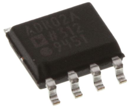 Analog Devices ADR02ARZ-REEL7, Fixed Series Voltage Reference 5V, ±0.1 % 8-Pin, SOIC
