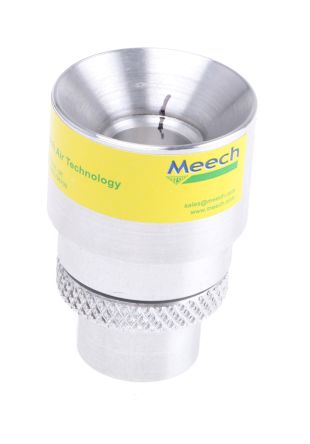 Meech Aluminium Pneumatic Air Amplifier,12mm Diam.,M5 x 6 Port Size, Maximm of 8bar
