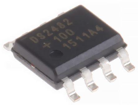 Maxim DS2482S-100+T&R, I2C Translator, 8-Pin SOIC