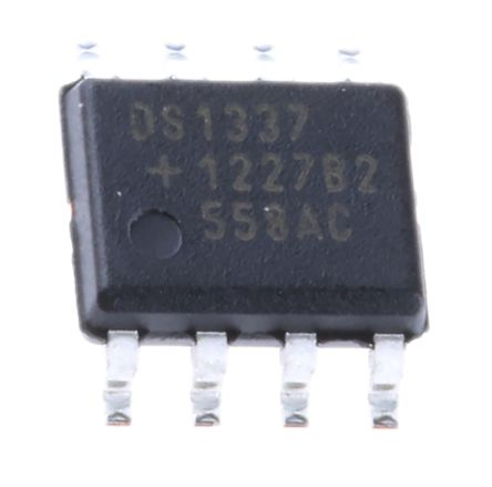 Maxim DS1337S+T&R, Real Time Clock (RTC) Serial-I2C, 8-Pin SOIC