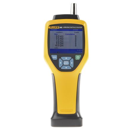 Fluke 985 Air Quality Monitor, with data logging, with Backlit LCD Display