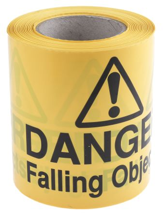 Danger Falling Objects', 150mm x 100m product photo