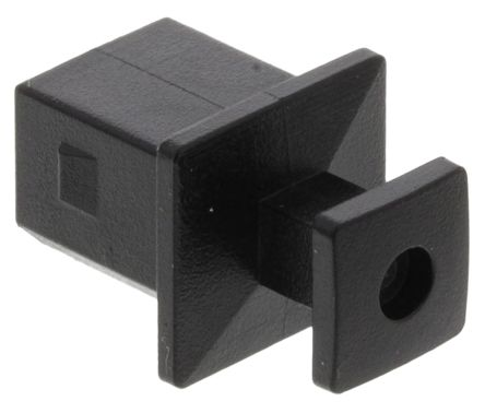 726 Series Square Flange USB Dust Cover, ABS Material product photo