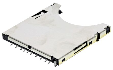 Wurth Elektronik 693 Series, Header for use with SD Card