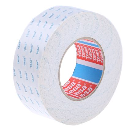 4943 Translucent Double Sided Cloth Tape, 50mm x 50m, 0.1mm Thick product photo
