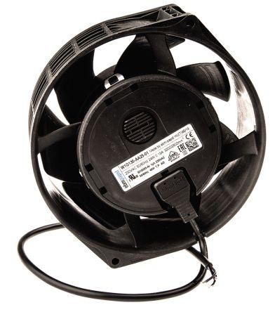 ebm-papst W1G130 Series Axial Fan, 150 x 57mm, 370m³/h, 25W, 230 V ac, IP 54