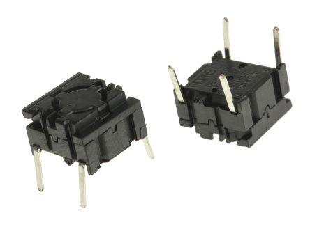 50 mA @ 24 V dc IP67 Tactile Switch Single Pole Single Throw SPST