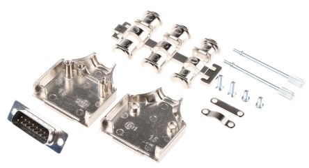 15 Way D-Sub Plug Connector Kit product photo