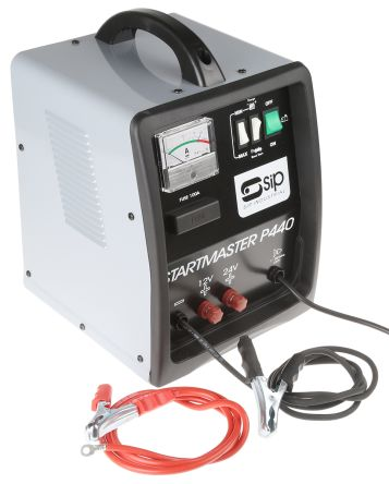 RS PRO Lead Acid 12V 33A Battery Charger