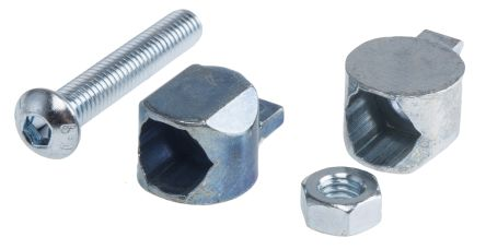 RS Pro Fixing & Connection Element Butt Connector, strut profile 30 mm, Groove Size 6mm