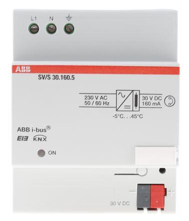 ABB Lighting Controller Power Supply, DIN Rail Mount, 230 V ac