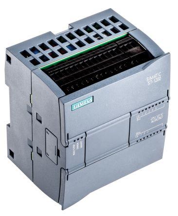 Siemens S7-1200 PLC CPU, Ethernet Networking Profinet Interface, 30 kB  Program Capacity
