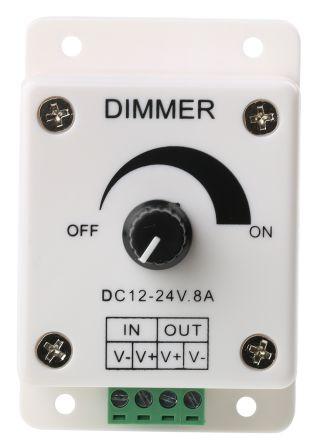 PWM LED Dimmer,5V,6V,12V or 24V up to 8A