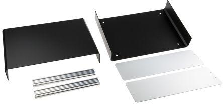 Aluminium Project Box, Black, 261 x 300 x 134.5mm product photo