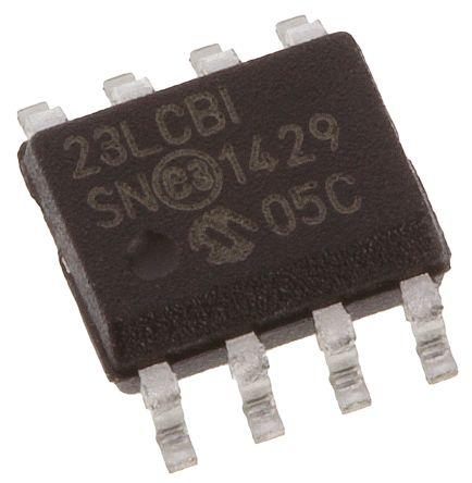 SRAM,1Mbit,2.5V,20MHz,SPI/SDI/SQI,SOIC8