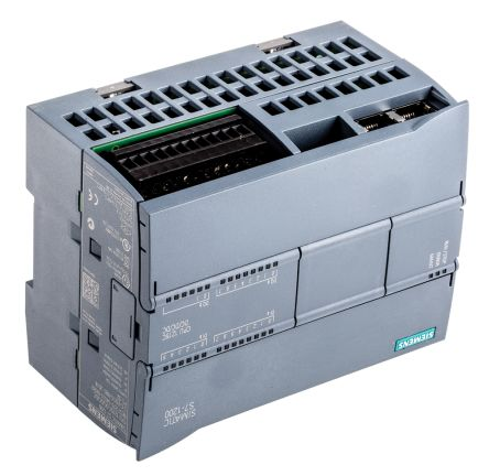 Siemens S7-1200 PLC CPU, Ethernet Networking Profinet Interface, 100 kB  Program Capacity