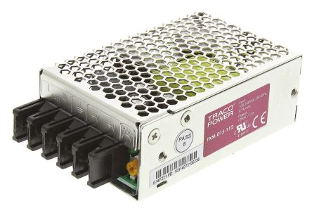 TRACOPOWER 15W Embedded Switch Mode Power Supply SMPS, 1 3A, 12V dc