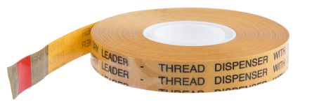 AT395 Clear Transfer Tape, 12mm x 33m, 0.04mm Thick product photo