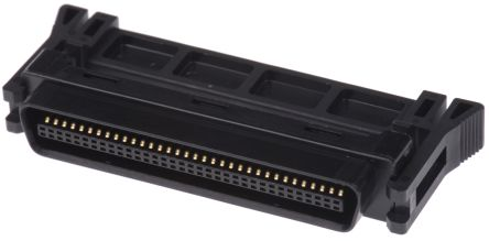 101 Series 1.27mm Pitch 68 Way Mini D Ribbon IDC Connector, Plug, Steel Shell product photo