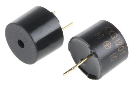 RS PRO 3V dc Electromagnetic Buzzer, 88dB
