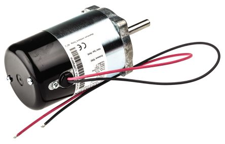 Parvalux Brushed DC Motor, 60 W, 24 V dc, 0.14 Nm, 4000 rpm, 7.93mm Shaft Diameter
