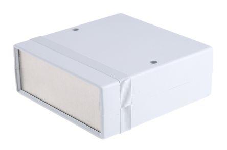 ABS & aluminium Project Box, Grey, 134 x 135 x 50mm product photo