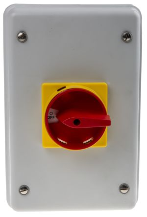 Vccf2 3 Pole Panel Mount Non Fused Isolator Switch 40 A