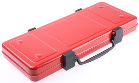 RS PRO Steel Tool Case Without Wheels, 448 x 198 x 54mm