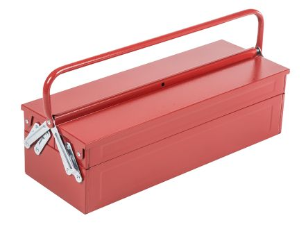 RS Pro Metal Cantilever tool box Non Removable dimensions 550 x 215 x 202mm