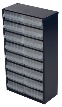 16 drawer Steel Cabinet, 552mm x 150mm x 306mm product photo
