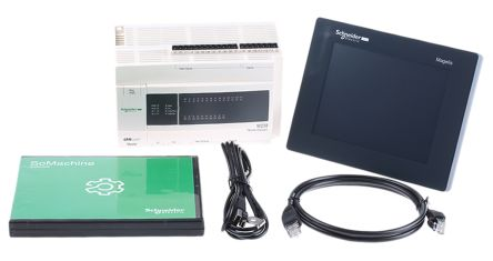 Schneider Electric Starter Kit for use with TM238LFDC24DT Logic Controller