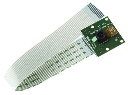 Raspberry Pi Camera Board Camera Module, I2C, 2592 x 1944 Resolution
