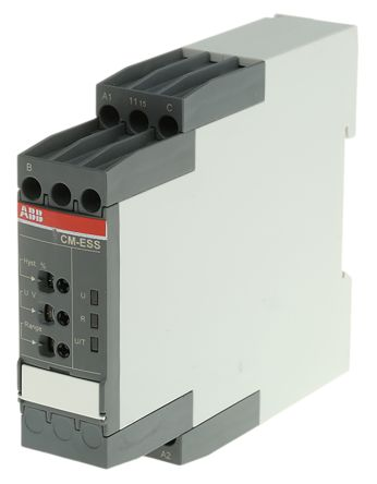 ABB Voltage Monitoring Relay with SPDT Contacts, 1 Phase, 24 → 240 V ac/dc