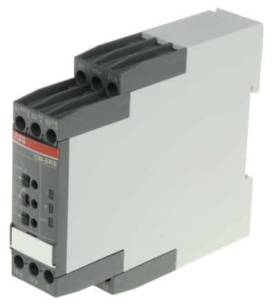 ABB Current Monitoring Relay with DPDT Contacts, 1 Phase, 24 → 240 V ac/dc