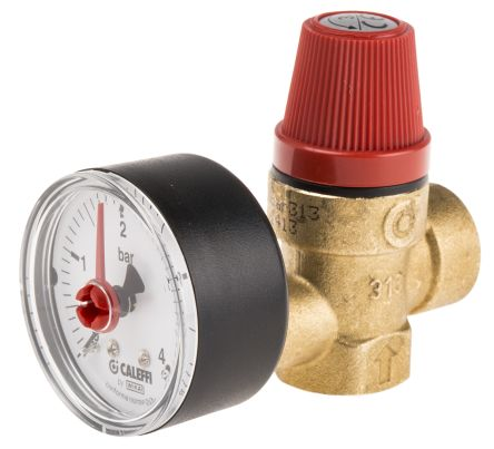313430 | Altecnic 3bar Pressure Relief Valve with Male G 1/2 in G ...