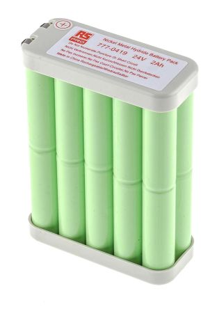 24V NiMH AA Rechargeable Battery Pack, 2000mAh product photo