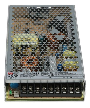 Enclosed Type 175W 5V 35A MSP-200-5 Meanwell AC-DC SMPS MSP-200 Series MEAN WELL Switching Power Supply