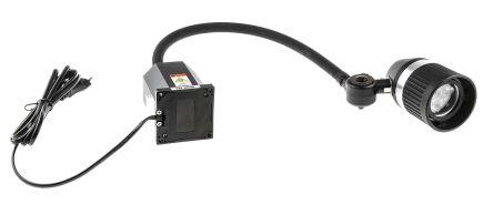 RS PRO LED Machine Light, 100 → 277 V ac, 3 W, Flexible Neck, 520mm Arm Length
