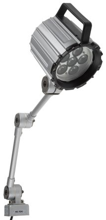 LED Machine Light, 24 V, 12 W, Adjustable Arm, 430mm Reach, 430mm Arm Length product photo